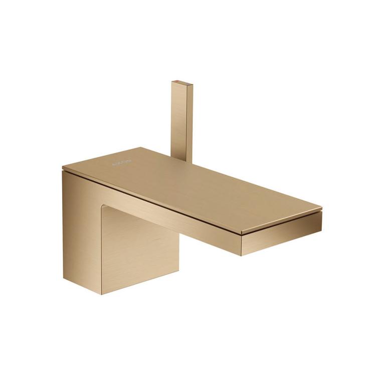 Mitigeur de lavabo MyEdition personnalisable Axor Bronze Brossé