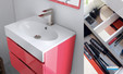 Meuble salle de bains egoiste decotec, version 2 tiroirs