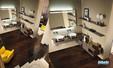 Collection de salle de bains Qamar conçue par la marque Inda