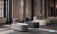 Baignoire arrondie et design BetteLux Oval Couture de BETTE 01
