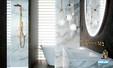 Robinet Mélangeur design pour lavabo à encastrer Philae de Horus 02