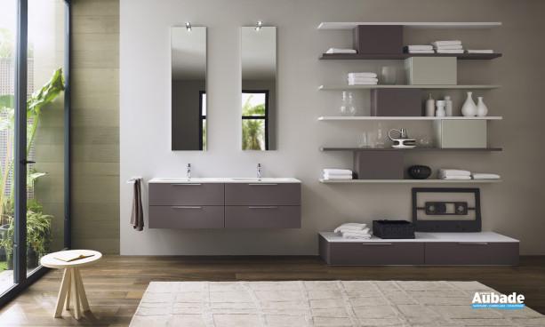 Meuble sous-vasque coloris Olmo Grey Progetto d'Inda