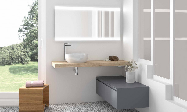 Meuble de salle de bains Plazza de Cedam 2