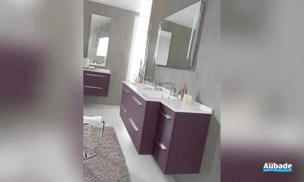 Meuble de salle de bains City par Ambiance Bain 5