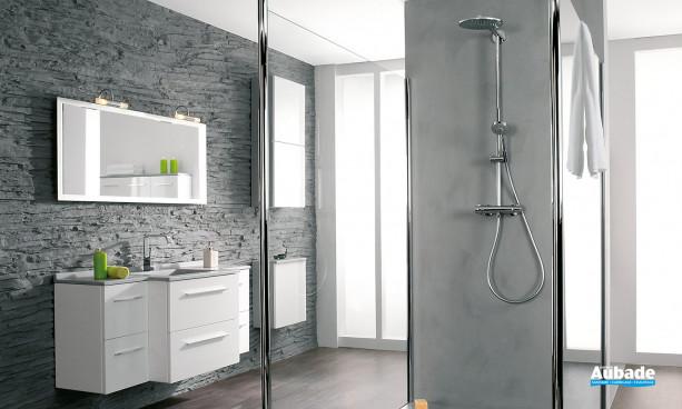 Meuble de salle de bains City par Ambiance Bain 7