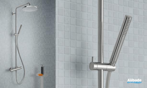 Colonne de douche Theta avec douchette design de Cristina