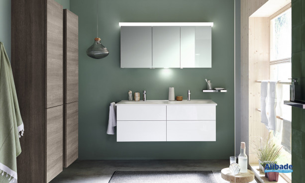 Meuble de salle de bains blanc Essento Burgbad