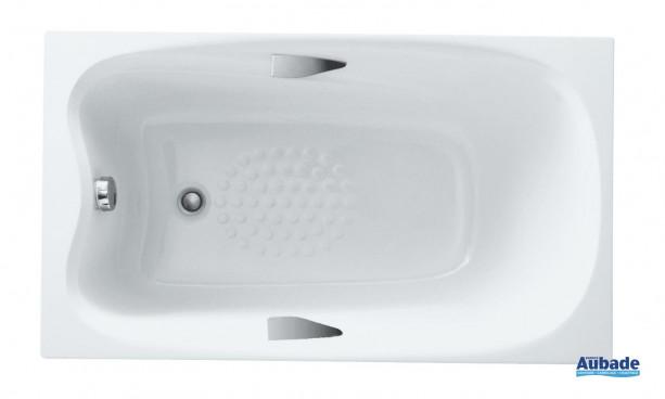 baignoire pandora d'allia en marbrex® 130 x 75 cm