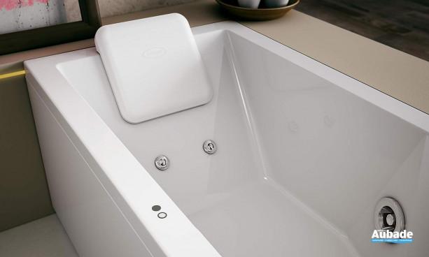 2 boutons tactiles intégrés à la coque pour une utilisation simple et un nettoyage facile