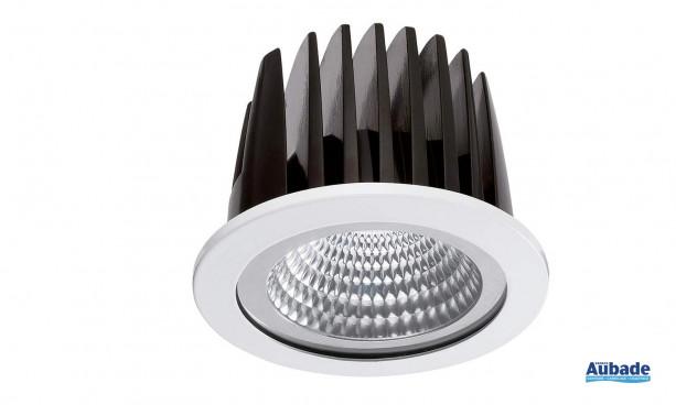 Downlight à LED performante Insaver 75 Eco LED de Lumiance - Rond