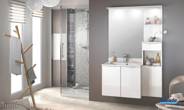Meuble salle de bain Delphy Evolution EP105MJG 1