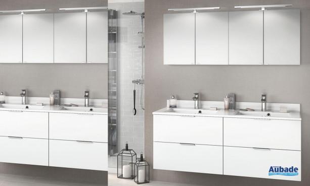 Meuble salle de bain Delphy Evolution EP140SL 2