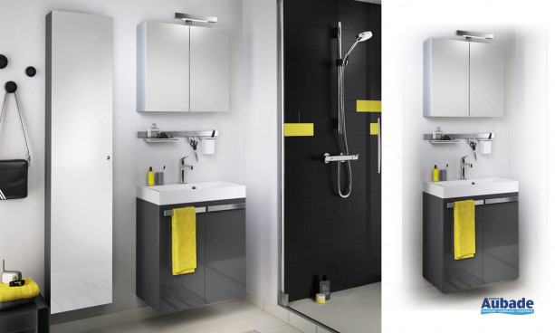Meubles salle de bain delpha studio s60d espace aubade - Meuble salle de bain delpha ...