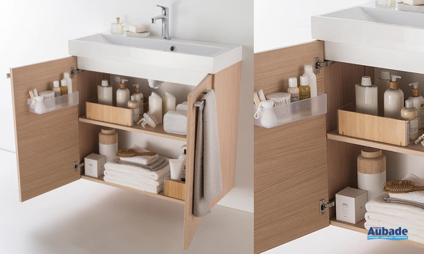 Meuble salle de bain Delphy Studio S80C 2