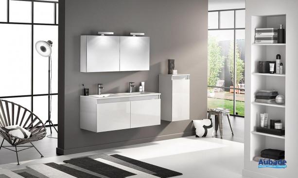 Meuble salle de bains D Motion L 120 cm Delpha