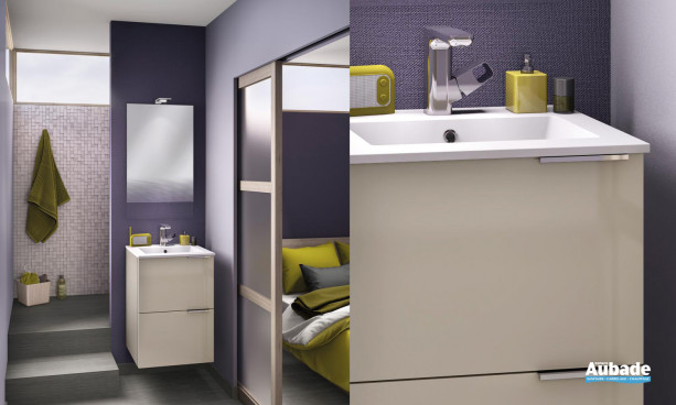 Meuble salle de bain Kub 50 1