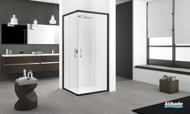 paroi de douche novellini zephyros 2a espace aubade. Black Bedroom Furniture Sets. Home Design Ideas