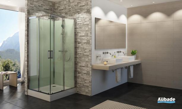 Cabine de douche Modul''R carrée 3