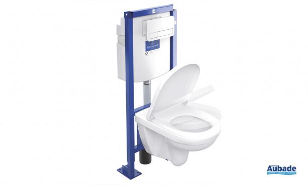 Toilettes bâti-support O.novo DirectFlush / ViConnect de Villeroy & Boch