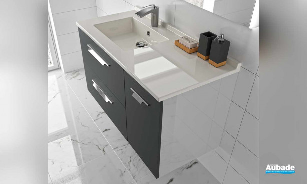 Meuble de salle de bains Strada par Ambiance Bain 11