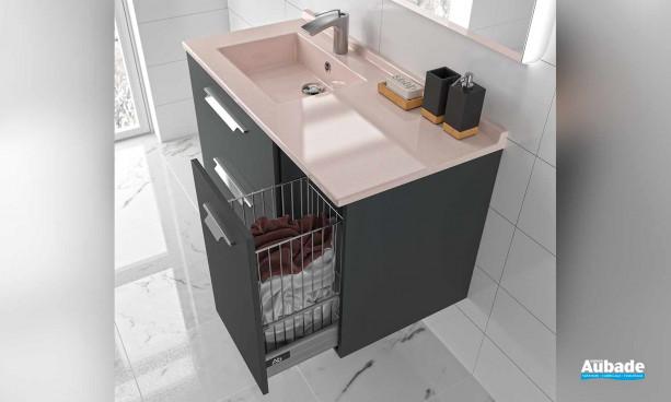 Meuble de salle de bains Strada par Ambiance Bain 12