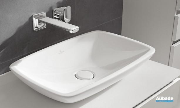 Vasque à poser rectangulaire Loop & Friends de Villeroy & Boch