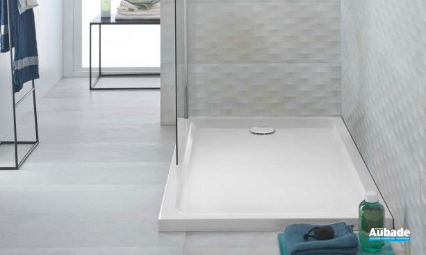 Receveur de douche Allia Prima Style 120 x 90 blanc antigliss