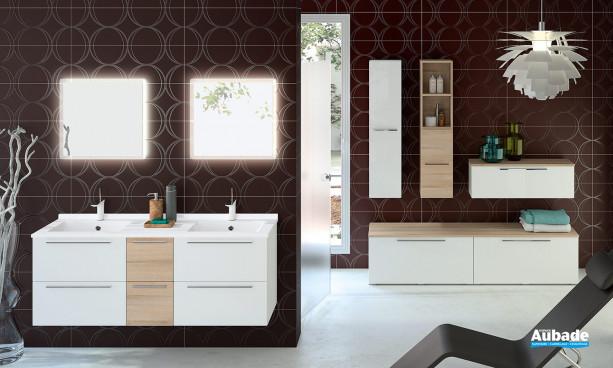Meubles de salle de bains Akido par Ambiance Bain 7