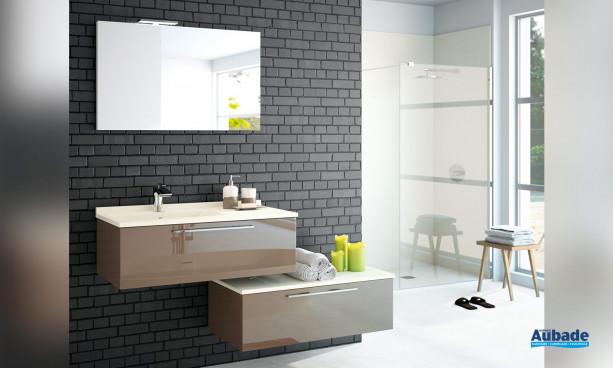 Meubles de salle de bains Akido par Ambiance Bain 9