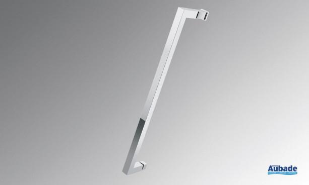 Poignée métal chromée Young 2.0 de Novellini