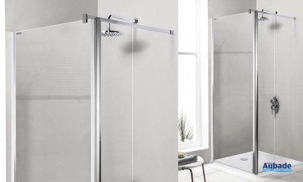 Paroi Prestige douche ouverte de Leda