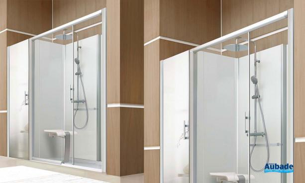 Les cabines de douche Gamme Bien-être de Leda