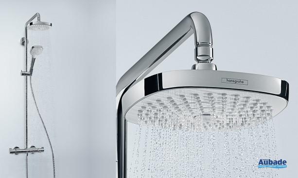 Robinetterie colonne de douche Showerpipe Croma Select E 180 2jet de Hansgrohe