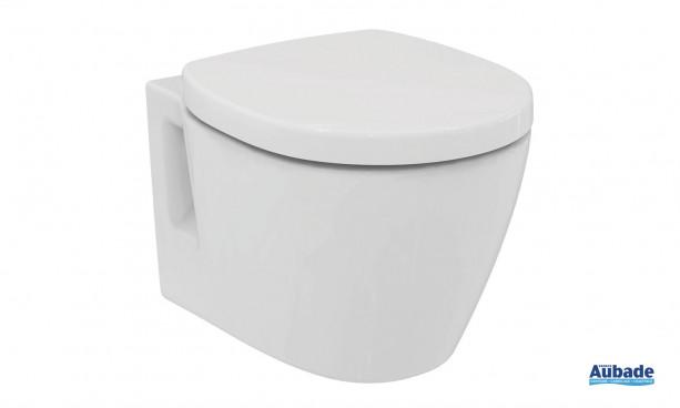 Pack cuvette suspendue Connect Space blanc de Ideal Standard