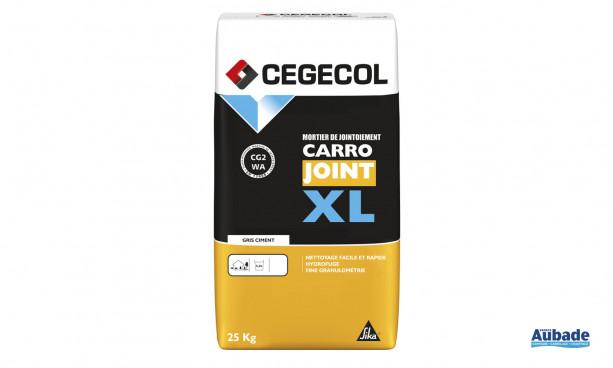 Mise en oeuvre et finition carrelage Carrojoint XL de Cegecol