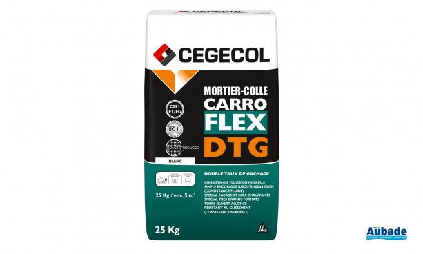 Mortier colle Carroflex DTG de Cegecol