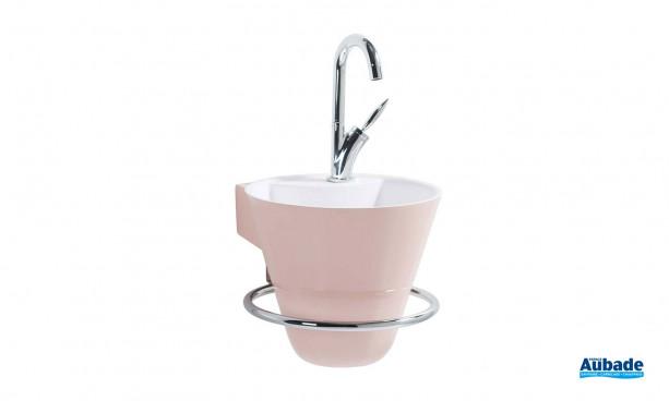 Lave-mais Cône rose cocotte de Decotec