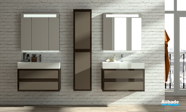 Meuble salle de bain decotec élysée