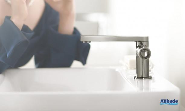 Mitigeur lavabo levier cylindrique « Pure » Composed de Jacob Delafon