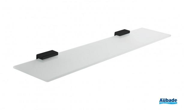 Tablette en verre - noir mat Cubo d'Inda