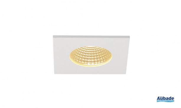 Luminaire encastré Patta-I de SLV - Carré blanc