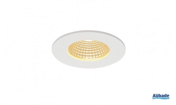 Luminaire encastré Patta-I de SLV - Rond blanc