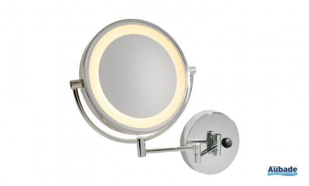Miroir mural cosmétique LED Vissardo de SLV
