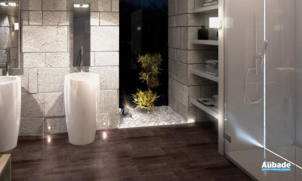Barrette lumineuse LED pour salle d'eau HR Alu d'Europole