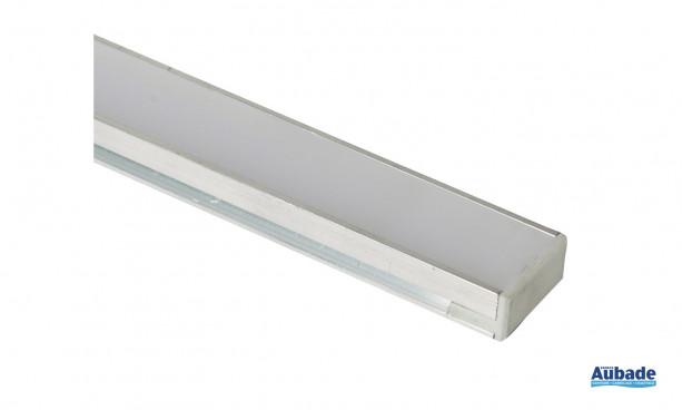 Réglette LED lumineuse étanche sur mesure HR Alu d'Europole