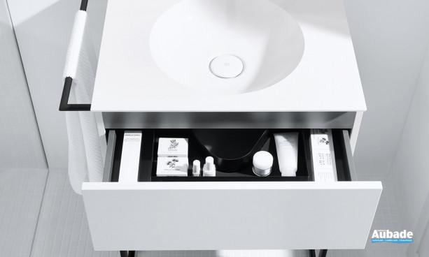 Compartiment tiroir salle de bains Coco Burgbad