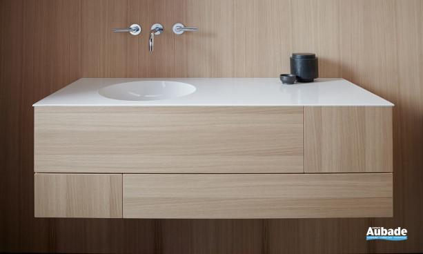 Meuble salle de bain bois Coco Burgbad