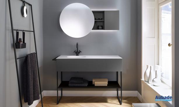 Meuble et miroir salle de bain Coco Burgbad