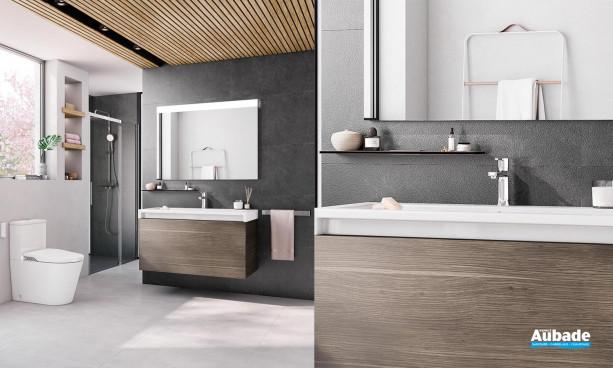 Meuble de salle de bains Stratum-N de Roca