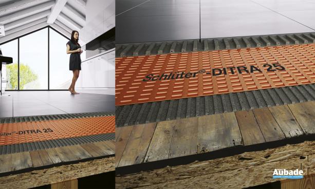 Natte de découpage Schlüter®-DITRA 25 de Schlüter Systems